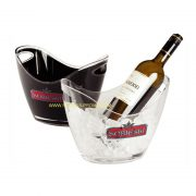transparent 4L ice bucket