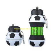 Collapsible Travel Silicone Water Bottle