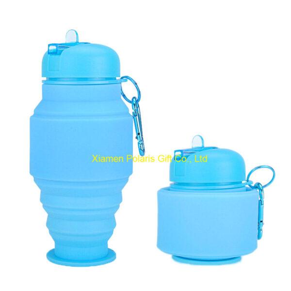 flexible folding water bottle
