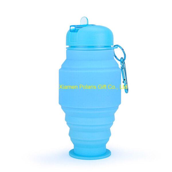 folding school water bottle for children
