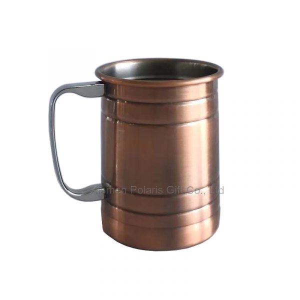 christmas moscow mule mug